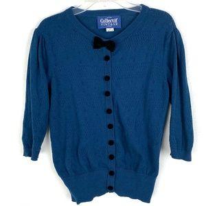 Modcloth Collectif Vintage cardigan sweater crop
